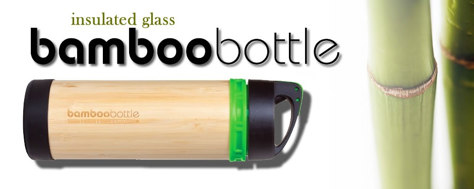 Bamboo Glass Bottles