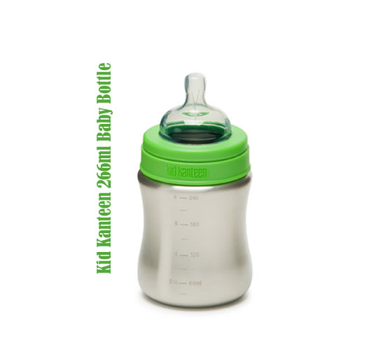 Kid Kanteen 266ml Stainless Steel Baby Bottle