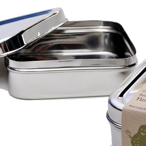 Stainless Steel Solo Cube Bento Box