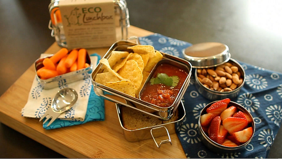 ECOLunchboxStainless Steel Reusable Lunch Boxes