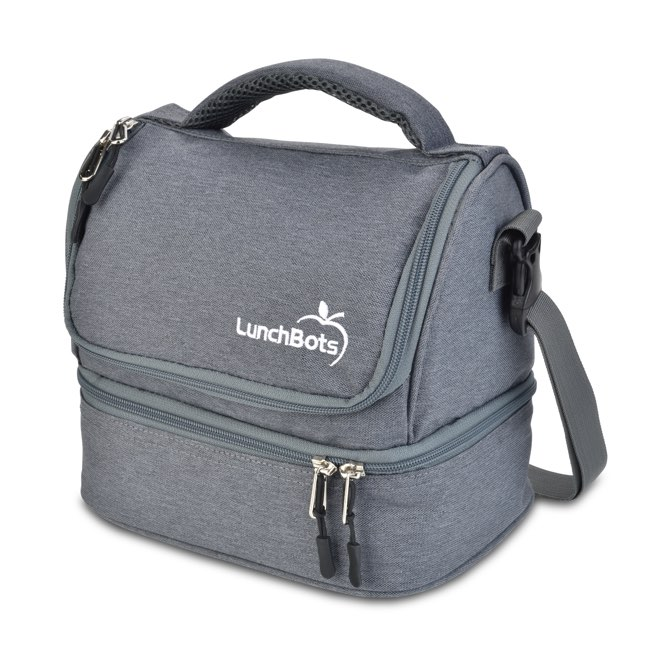 Lunchbots Insulated Lunch Bag Grey