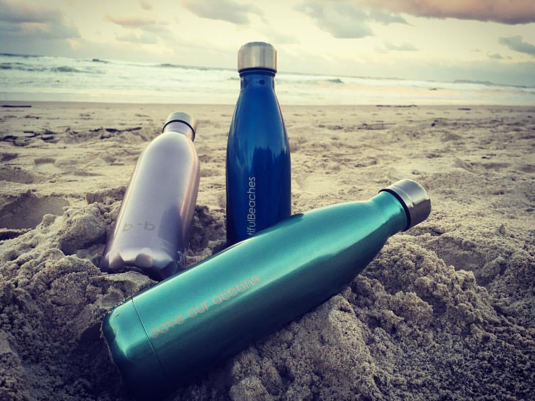 Beautiful Beaches Insulated Drink Bottles Sleek