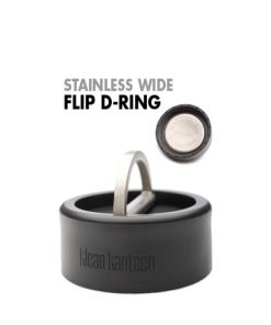 Wide Stainless Flip-D Ring Cap