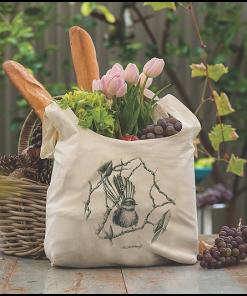 Wild Grey Fox Penguin Produce Bag