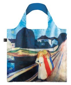 LOQI Shopping Bag Four Girls on Bridge