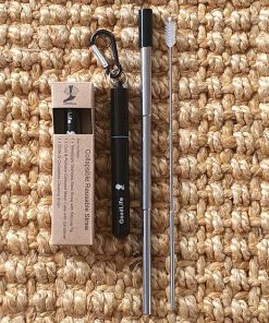 Goodlife Collapsible Straw Kit - Black