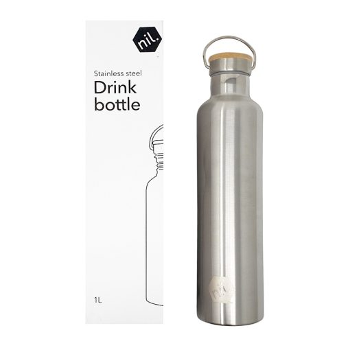 NIL Insulated 1 Litre Stainless Steel Bottle
