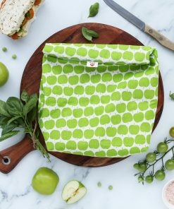 Munch Cupboard Roll-down lunchbag Green Apples